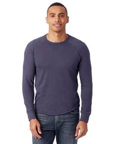 Alternative 7597B Men's Kickback Vintage Heavy Knit Pullover
