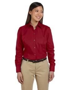 Van Heusen 13V0114 Ladies' Long-Sleeve Silky Poplin