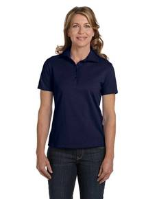 Hanes 035 Ladies' 7 oz. ComfortSoft® Cotton Piqué Polo