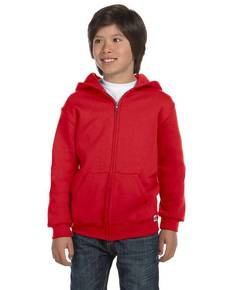 Russell Athletic 997HBB Youth Dri-Power® Fleece Full-Zip Hood