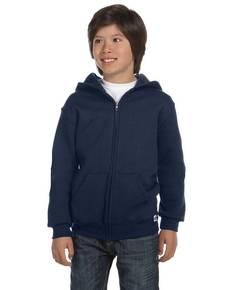 Russell Athletic 997HBB Youth Dri-Power® Fleece Full-Zip Hood