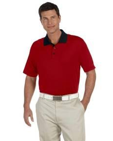 adidas Golf A119 Men's climalite Classic Stripe Short-Sleeve Polo