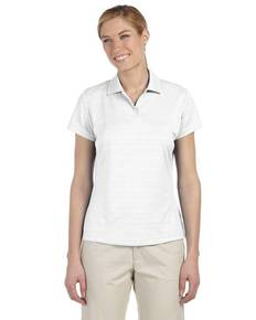 adidas Golf A162 Ladies' climalite Textured Short-Sleeve Polo
