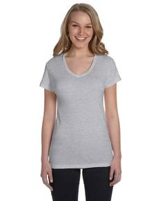 Alternative AA1211 Ladies' Baby Rib V-Neck