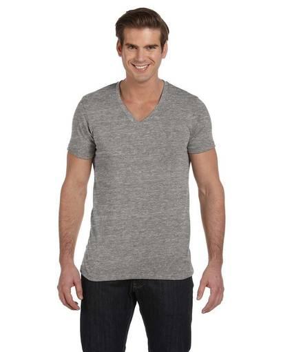 alternative aa1932 men's boss v-neck eco-jersey™ t-shirt front image