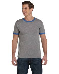 Alternative AA2072 Men's Contrast Ringer Crew