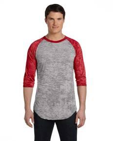 Alternative AA2640 Unisex Big League Baseball T-Shirt