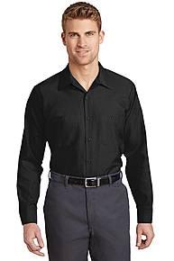Red Kap SP14LONG Red Kap ® Long Size, Long Sleeve Industrial Work Shirt
