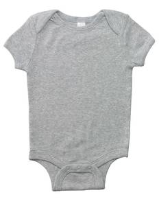 Bella + Canvas B100 Infant Short-Sleeve Baby Rib One-Piece