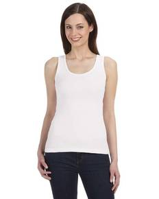 Bella + Canvas B4020 Ladies' Organic 2x1 Rib Tank