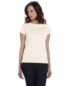 Bella + Canvas B6020 Ladies' Organic Jersey Short-Sleeve T-Shirt