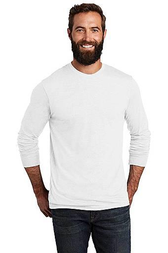 allmade al6004 allmade ® unisex tri-blend long sleeve tee front image