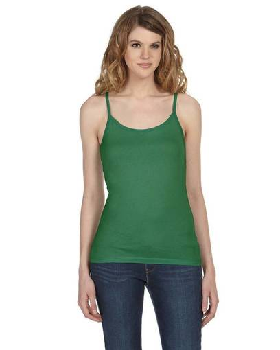 bella + canvas b8111 ladies' sheer jersey tank front image
