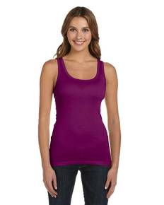 Bella + Canvas B8780 Ladies' Sheer Mini Rib Tank