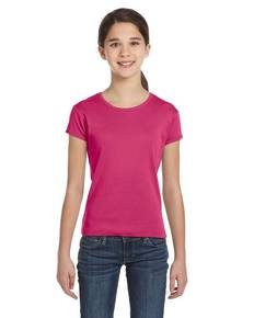 Bella + Canvas B9001 Girls' Baby Rib Short-Sleeve T-Shirt