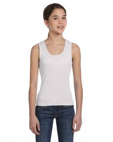 Bella + Canvas B9080 Bella B9080 Girls' Baby Rib Tank