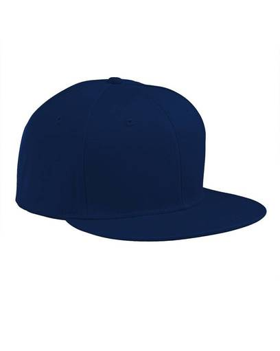 big accessories ba516 flat bill cap front image