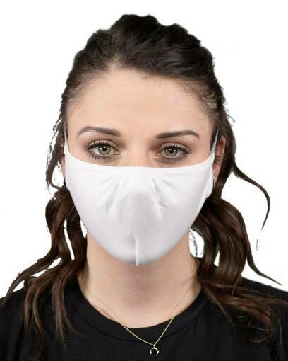 allmade amcfm allmask™ 2-layer reusable organic cotton face mask Front Fullsize