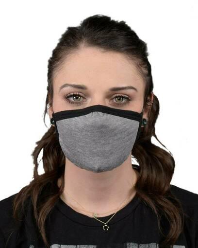 allmade amtfm allmask™ 2-layer reusable tri-blend face mask Front Fullsize