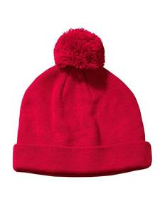 Big Accessories BX028 Knit Pom Beanie