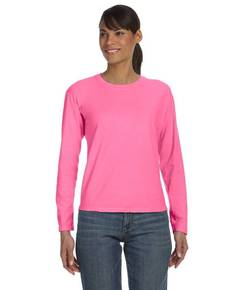 Comfort Colors C3014 Ladies' Ringspun Garment-Dyed Long-Sleeve T-Shirt