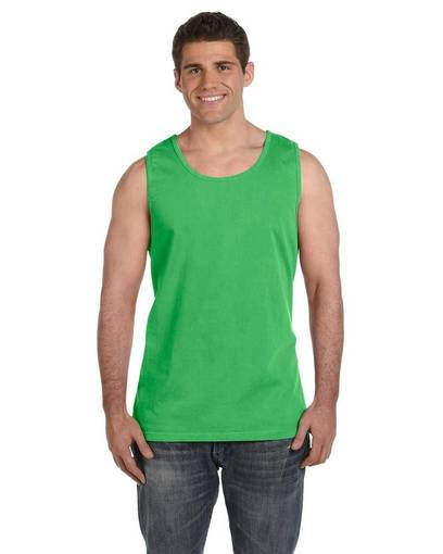 comfort colors c9360 adult heavyweight rs tank front image