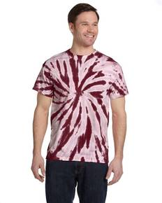 Tie-Dye CD110 Adult 5.4 oz., 100% Cotton Twist Tie-Dyed T-Shirt