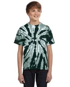 Tie-Dye Drop Ship CD110Y Youth 5.4 oz., 100% Cotton Twist Tie-Dyed T-Shirt