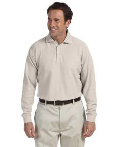 Chestnut Hill CH110 Long-Sleeve Performance Plus Piqué Polo