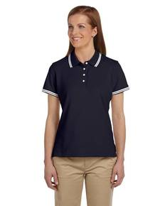 Chestnut Hill CH113W Ladies' Tipped Performance Plus Piqué Polo