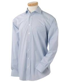 Chestnut Hill CH600C Men's Executive Performance Broadcloth with Spread Collar