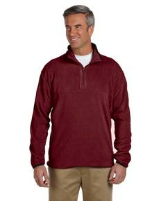 Chestnut Hill CH910 Microfleece Quarter-Zip Pullover