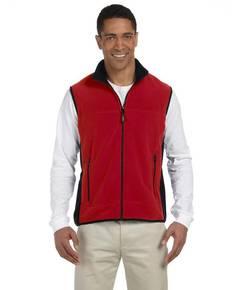 Chestnut Hill CH960 Polartec® Colorblock Full-Zip Fleece Vest