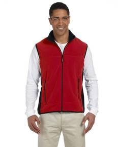 Chestnut Hill CH960 Polartec® Colorblock Full-Zip Fleece Vest