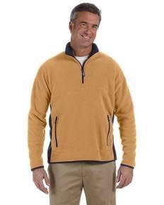Chestnut Hill CH970 Polartec® Colorblock Quarter-Zip Fleece Jacket