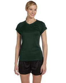 Champion CW23 Ladies' 4.1 oz. Double Dry® V-Neck T-Shirt