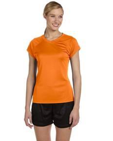 Champion CW23 Ladies' 4.1 oz. Double Dry® V-Neck T-Shirt