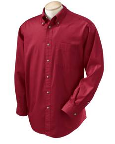Devon & Jones D500 Men's Long-Sleeve Titan Twill