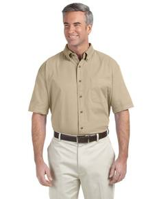 Devon & Jones D500S Men's Short-Sleeve Titan Twill