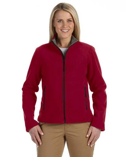 devon & jones d765w ladies' advantage soft shell jacket front image