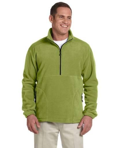 devon & jones d775 wintercept™ fleece quarter-zip jacket front image