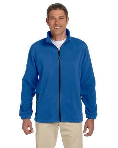 devon & jones d780 men's wintercept™ fleece full-zip jacket front image