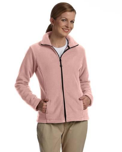 devon & jones d780w ladies' wintercept™ fleece full-zip jacket front image