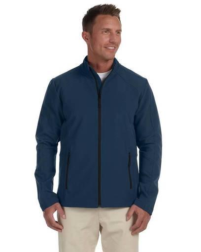 devon & jones d945 men's doubleweave tech-shell® duplex jacket front image