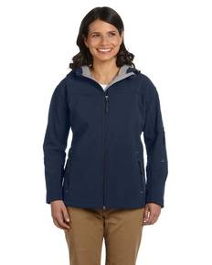devon-amp-jones-d998w-ladies-39-soft-shell-hooded-jacket