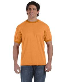 Authentic Pigment 1937 6 oz. Direct-Dyed Heather Ringer T-Shirt