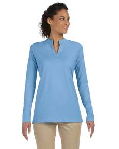 devon-amp-jones-dp165w-ladies-39-stretch-jersey-long-sleeve-tunic