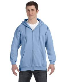 Hanes F280 Adult 9.7 oz. Ultimate Cotton® 90/10 Full-Zip Hood