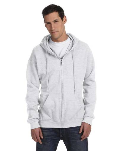 fruit of the loom f6230r 6.3 oz. generation 6™ 50/50 full-zip hooded sweatshirt front image