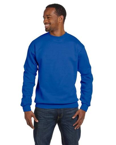 fruit of the loom f630r 6.3 oz. generation 6™ 50/50 crewneck sweatshirt front image